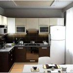 Основные способы дизайна и ремонта маленькой кухни