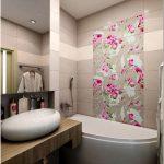 Дизайн ванной комнаты в панельном доме — 30 фото