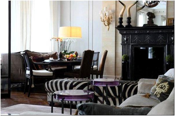 Фото 6 - Колониальный стиль гостиной