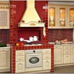 Очаровательная простота дизайна кухни в деревенском стиле