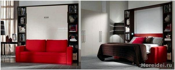 мебель трансформер для маленьких квартир