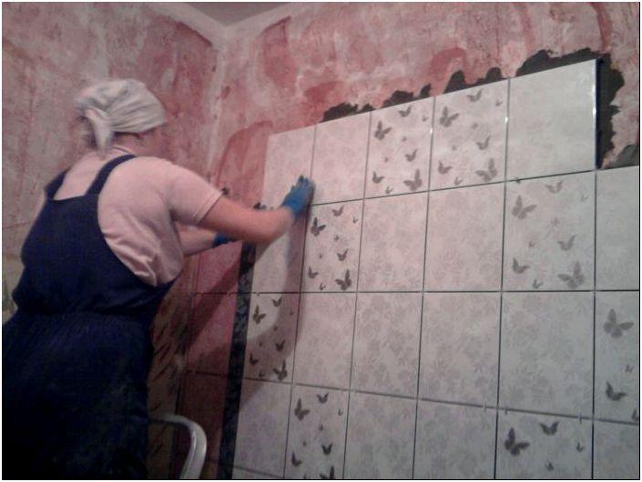 Как положить плитку в ванной самостоятельно - подробные ...