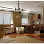 Идеи зонирования и перепланировки для интерьера однокомнатной квартиры своими руками
