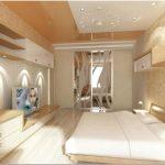 Оклейка флизелиновыми обоями потолка и стен для последующей покраски