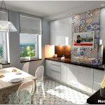 Создаем практичный дизайн кухни в 13 м2