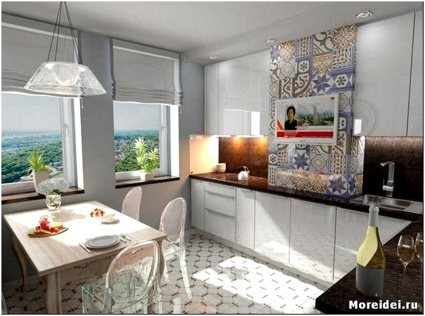 кухня 13 м2 дизайн