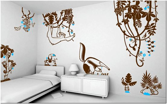 Фото 8 - Оформление стены в спальне