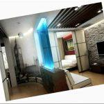 Дизайн интерьера однокомнатной квартиры 40 кв.м