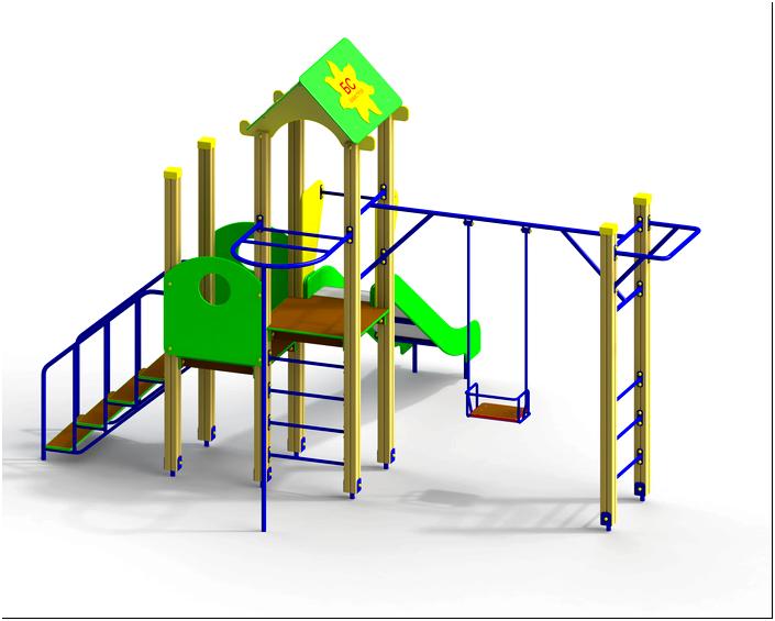 Детская горка, детские игровые комплексы купить в Минске