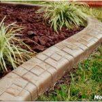 Садовые бордюры: выбираем материал и укладываем своими руками