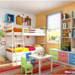 Дизайн маленькой детской 3,2 м: способы организации пространства