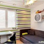 Покраска стен в полоску: варианты использования приёма в оформлении дизайна