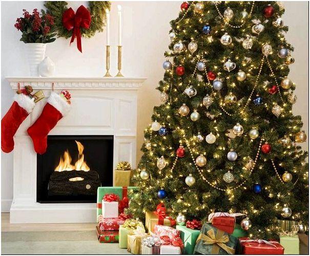 Фото 3 – Новогодние чулки ждут подарков от Санта-Клауса