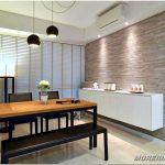 Дизайн квартиры в стиле минимализм в сингапуре