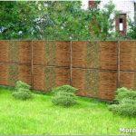 Чем можно закрыть забор из сетки рабицы: проверенные и оригинальные способы