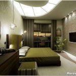 Спальня с перегородкой: разрабатываем интересный дизайн