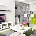 Весенний дизайн однокомнатной квартиры 45 кв. м