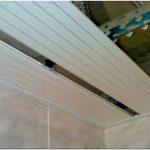 Подвесной потолок в ванной – смонтируйте сами!