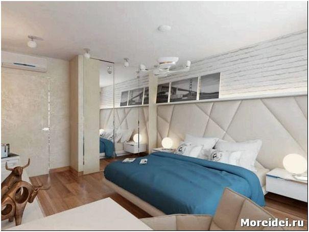 дизайн спальни 9 кв.м