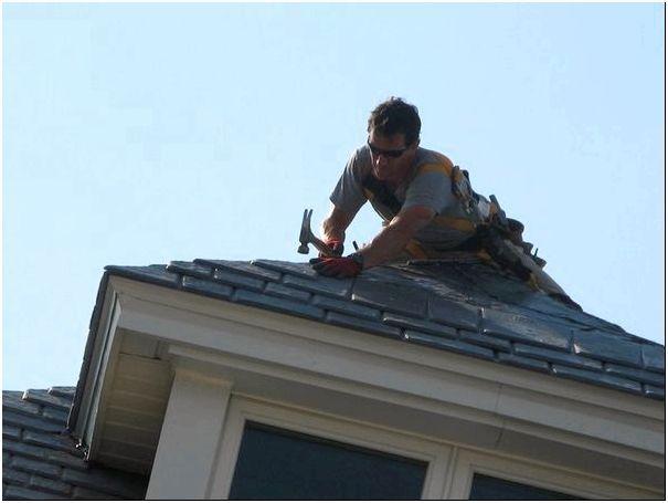 Ремонт крыши можно производить самостоятельно