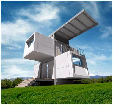 Экзотический вариант модульного дома