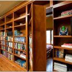 Как превратить книжный шкаф в потайные двери?