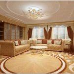 Дизайн гостиной в классическом стиле. классика всегда остается в тренде
