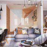 Дизайн гостиной с перегородкой: умело используем этот элемент