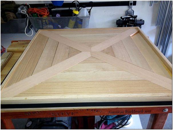 Фото 7 – Квадратная деревянная столешница
