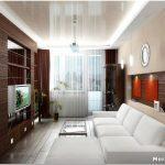 Как сделать уютным дизайн узкой гостиной?
