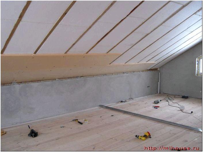 Утепление крыши пенопластом изнутри своими руками, как и чем лучше ...