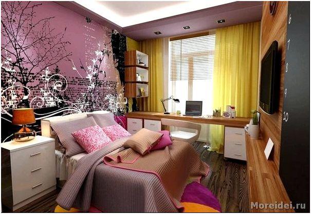 комната для мальчика и девочки подростков