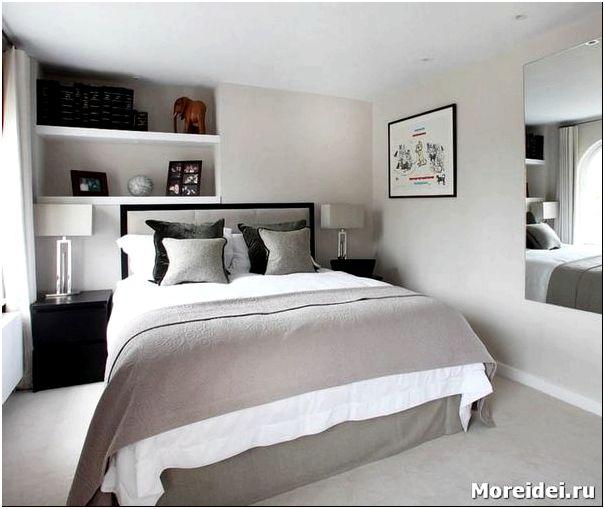 дизайн спальни 13 кв.м