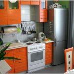 10 Идей для маленькой кухни – от выбора мебели до хрустальной люстры