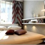 Практичный дизайн узкой спальни — 20 примеров
