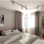 Как использовать достоинства спальни с двумя окнами