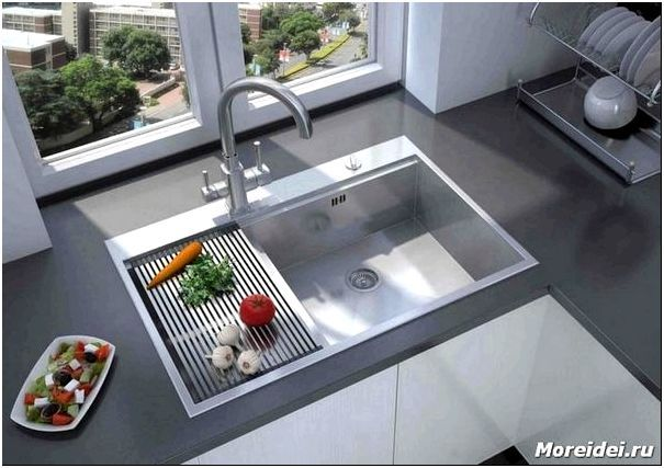 дизайн мойки для кухни