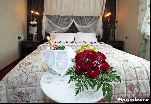 Идеальная спальня для молодожёнов