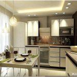 Реализуем многофункциональный дизайн кухни в 18 кв.м