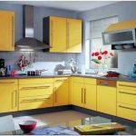 Секрет удачного дизайна кухни желтого цвета