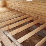 Утепление пола в деревянном доме: способы и технология