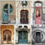 Необычные двери: смелый и яркий дизайн