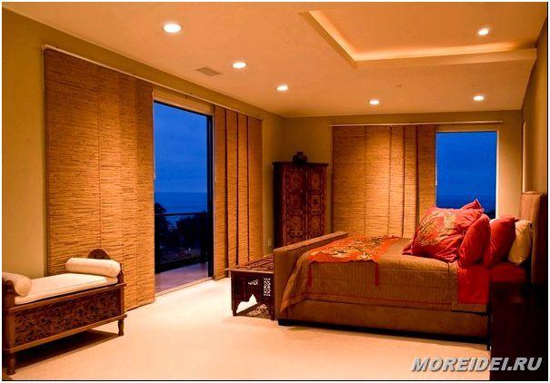 японские шторы панели