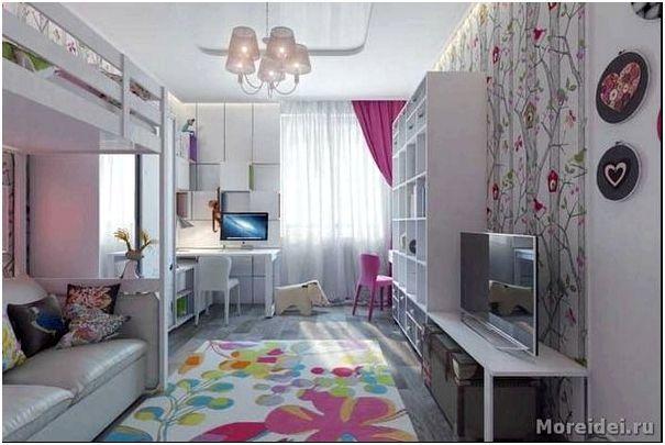Комната для двух девочек подростков