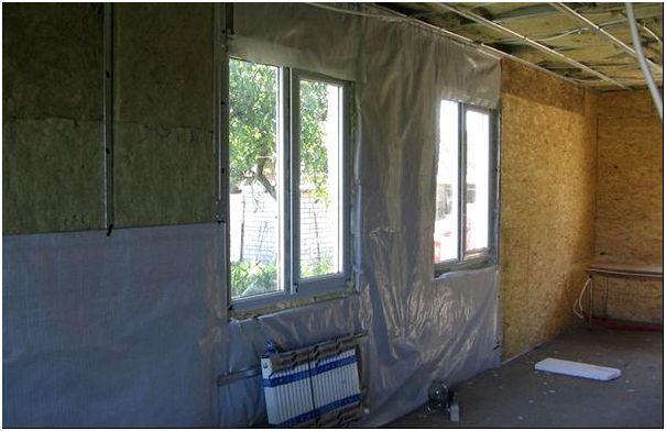 Защита стен от пара изнутри