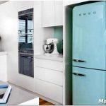 Стильные и яркие холодильники в стиле ретро: как выбрать и использовать в интерьере?