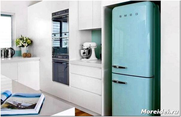 холодильники в стиле ретро