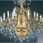 Люстры из бронзы как основной элемент декора