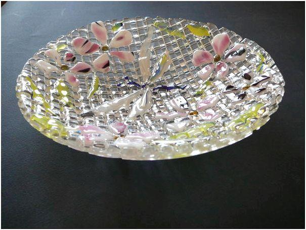 Фото 3 - Фьюзинг на тарелке от мастерской Баккара