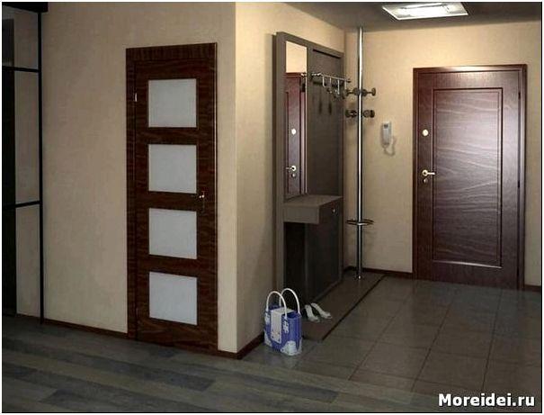 квадратный коридор